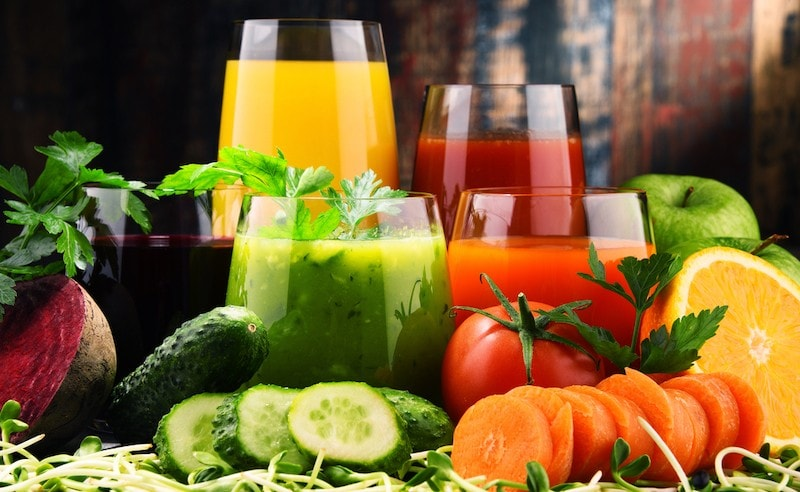 10 Best Vegetables for Juicing and Top 5 Fruits for Juicing