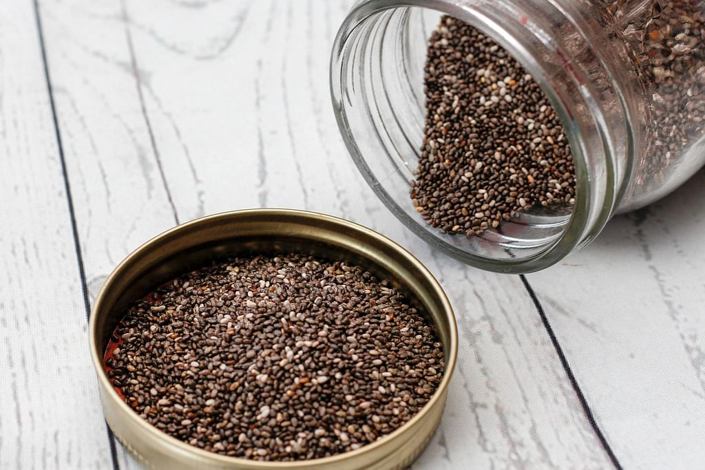 9 Reason Why You Shoud Eat More Chia Seeds chia seeds 9 medical advantages and 4 advantages during pregnancy chia seeds initially filled in Mexico have for some time been esteemed for their therapeutic and dietary benefits indeed they were once even utilized as cash and Aztec fighters ate chia seeds to give them energy and perseverance to be certain with regards to nourishment these little seeds pressed a remarkable incredible punch beside jolts of energy chia seeds medical advantages incorporate improving stomach related wellbeing treating diabetes and securing the heart yet there is substantially more this little seed can do there are two or three results to consider you'll discover chia seeds results expressed toward the finish of this article previously we should investigate the medical advantages chia seeds can offer here are 9 chia seeds medical advantages one skin and maturing chia seeds wellbeing benefits start with the capacity to improve your skin and avoid indications of maturing this is because of the degree of cell reinforcements inside the chia seed research out of Mexico tracked down that the seeds have a more significant level of cell reinforcements than first announced truth be told the cell reinforcement movement was appeared to plug up to 70% of free extreme action with regards to skin wellbeing cell reinforcements helped by accelerating the skin's maintenance frameworks moreover cell reinforcements can forestall further harm to stomach related wellbeing the fiber content is likewise on the rundown of chia seeds medical advantages indeed chia is amazingly high in fiber giving right around 11 grams Browns only one serving can give the every day suggested consumption and as fiber can help your body pass stool this is useful for managing stomach related problems, for example, clogging the fiber what's more, Chia can likewise help keep you more full longer since it ingests a decent arrangement of water and extends in the stomach when devoured this pro
